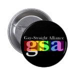Botón oscuro redondo clásico de GSA Pin
