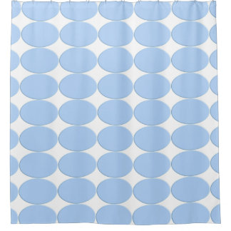 Botón oval - azul cielo + su backgr. y ideas cortina de baño