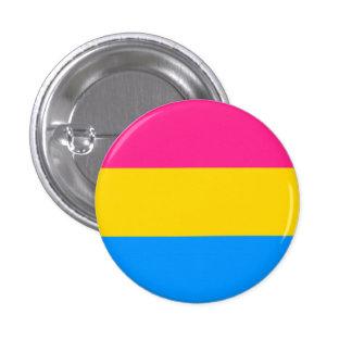 Botón Pansexual de la bandera Pin Redondo De 1 Pulgada