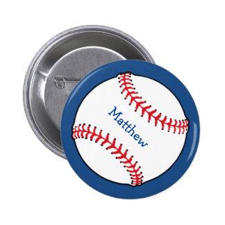 Botón patriótico del béisbol