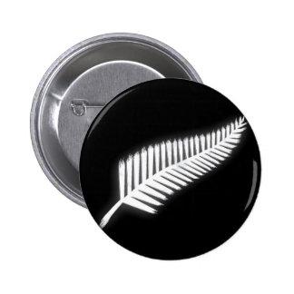 Botón patriótico del emblema nacional del helecho  pin