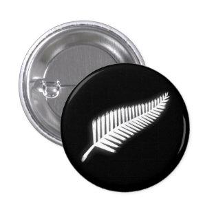 Botón patriótico del emblema nacional del helecho pin redondo de 1 pulgada