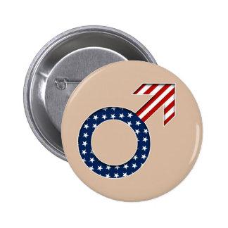 Botón patriótico del individuo