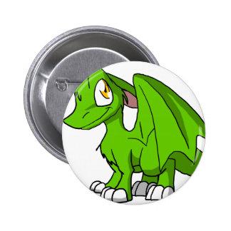Botón peludo del dragón de Recolourable SD del Pins