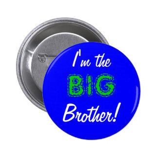 Botón/perno del hermano mayor pin redondo de 2 pulgadas