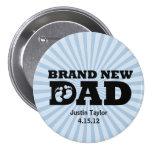 Botón personalizado papá a estrenar pin