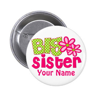 Botón personalizado rosa de la verde lima de la he pin redondo de 2 pulgadas