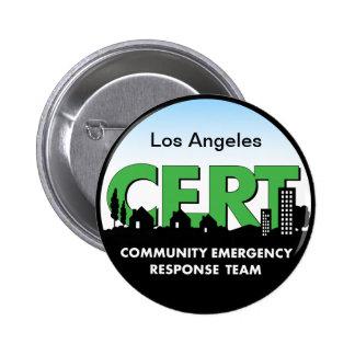 Botón-personalizar del CERT Pin