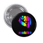 Botón/Phoenix del arco iris de Revo Pin