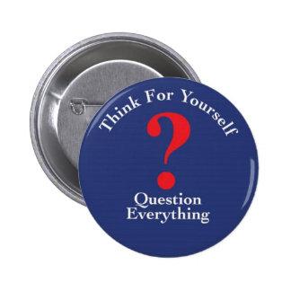 botón pin redondo de 2 pulgadas