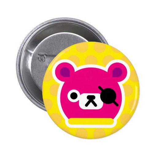 Botón - Pinko Pin Redondo De 2 Pulgadas
