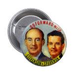 Botón político de Stevenson Sparkman del kitsch Pin Redondo De 2 Pulgadas