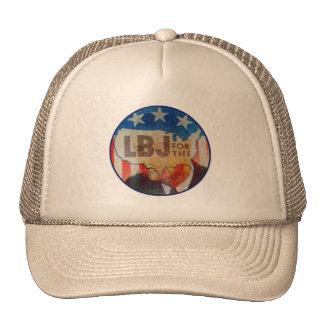 Botón político del vintage el interruptor intermit gorras