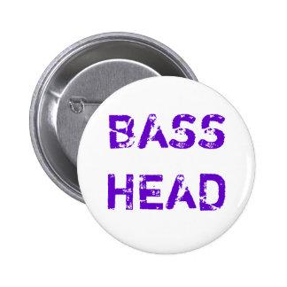 Botón principal bajo texto púrpura pin