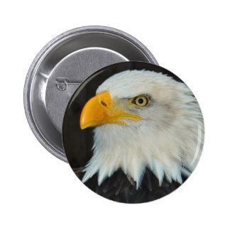 Botón principal de Eagle Pin Redondo De 2 Pulgadas