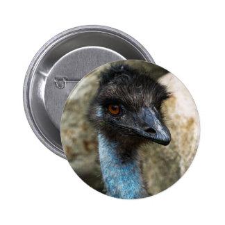 Botón principal del Emu Pin Redondo De 2 Pulgadas