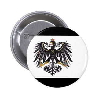 Botón prusiano de la bandera pins