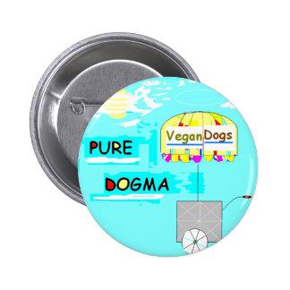 Botón puro del dogma pin