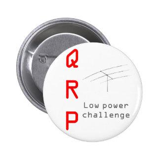 Botón - QRP Pin Redondo De 2 Pulgadas
