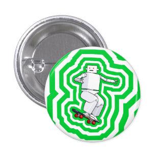 Botón que anda en monopatín del movimiento pin