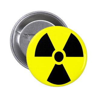 Botón radiactivo pins