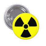 Botón radiactivo pin