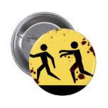 Botón rápido sangriento de los zombis pin