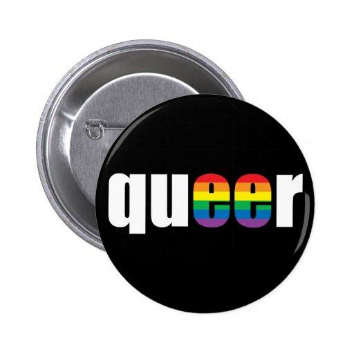 Botón raro del negro del orgullo pin