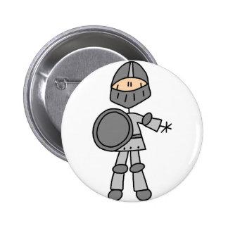 Botón real del caballero