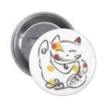 Botón rechoncho de Maneki Neko Pins