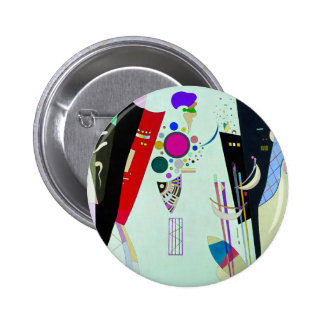 Botón recíproco de los acuerdos de Kandinsky Pin Redondo De 2 Pulgadas