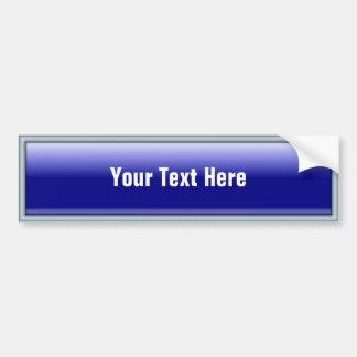 Botón rectangular del Web 2,0 Etiqueta De Parachoque