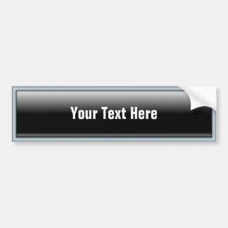 Botón rectangular del Web 2,0 Pegatina Para Auto