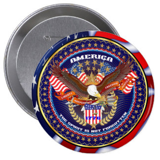 Botón redondo americano