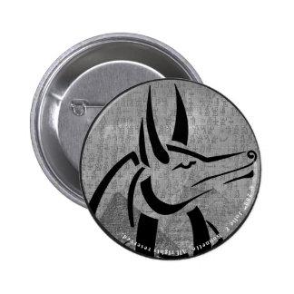 Botón redondo de Anubis Pin