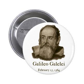 Botón redondo de Galileo Pin