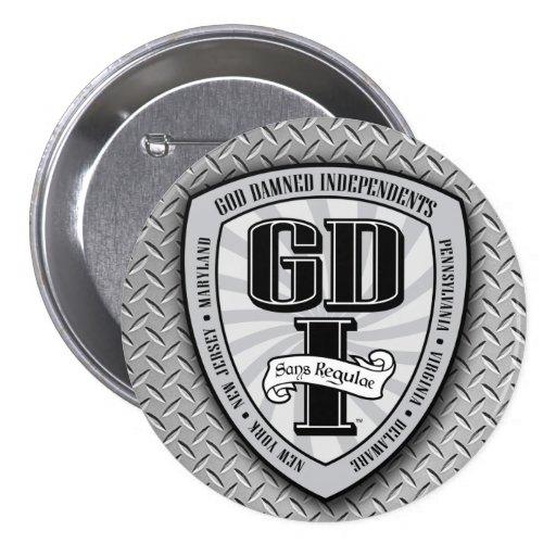 Botón redondo de GDI