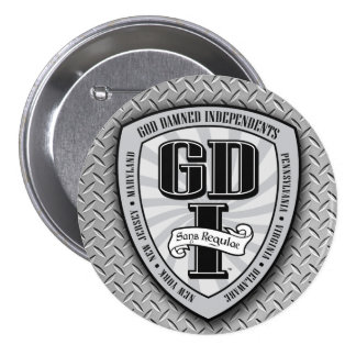 Botón redondo de GDI Pins