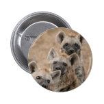 Botón redondo de los Hyenas Pins