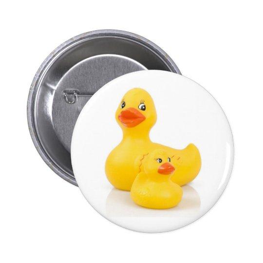 Botón redondo de los patos pin redondo de 2 pulgadas