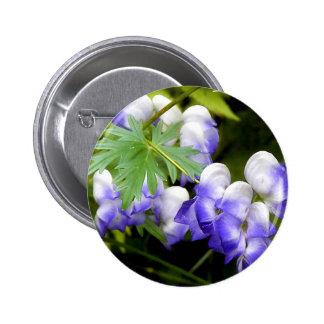 Botón redondo del Delphinium Pins