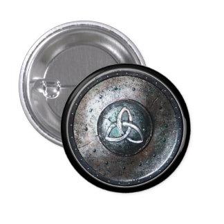 Botón redondo del escudo - emblema de Triquetra Pins