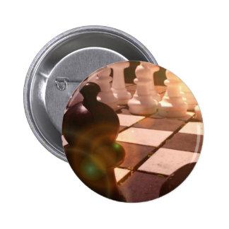 Botón redondo del Grandmaster del ajedrez Pins