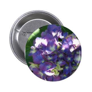 Botón redondo del Hydrangea Pin