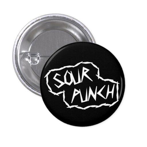 Botón redondo del logotipo (negro) pins