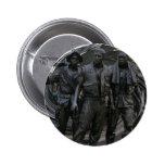 Botón redondo del monumento de guerra de Vietnam Pin Redondo De 2 Pulgadas