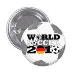 Botón redondo del mundial de Alemania Pin