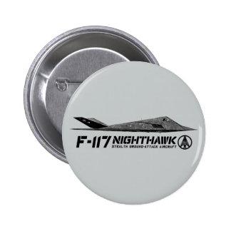 Botón redondo del Nighthawk F-117