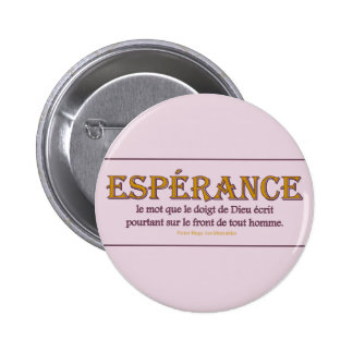 Botón redondo: Espérance Pin