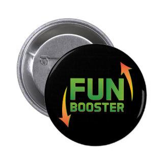 Botón redondo estándar del aumentador de presión pin redondo de 2 pulgadas